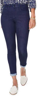 NYDJ Ami Raw-Edge Cuffed Ankle Skinny Jeans