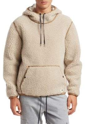Madison Supply Sherpa Popover Hoodie