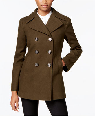 Kenneth Cole Double-Breasted Peacoat, Only at Macy's $225 thestylecure.com