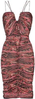 Isabel Marant Wilma tapestry print midi dress