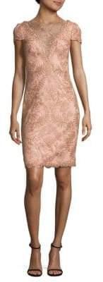 Tadashi Shoji Cap Sleeve Dress