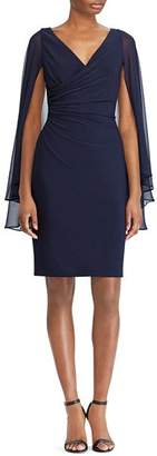 Ralph Lauren Slit-Sleeve Jersey Dress