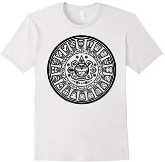 Mayan Calendar T-Shirt Mexican Immigrant Pride Mexico Roots