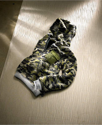 Epic Threads Big Boys Camo-Print Fleece-Lined Hoodie
