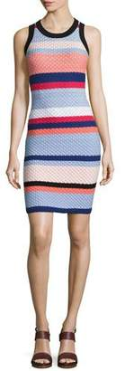 Parker Josephina Sleeveless Knit Mini Dress, Multi