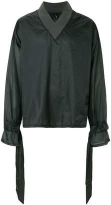 Odeur V-neck waterproof sweatshirt