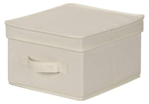 Canvas Decorative Box - Natural Medium