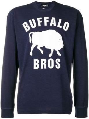 DSQUARED2 Buffalo Bros sweatshirt