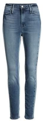 Good American Good Waist Piecing High Waist Skinny Jeans