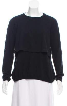 Brunello Cucinelli Long Sleeve Cashmere Top