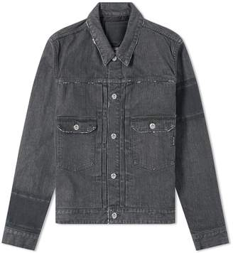 Mastermind World MASTERMIND WORLD Distressed Denim Jacket