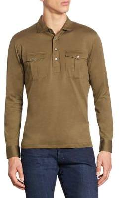 Polo Ralph Lauren Cotton Military Popover Shirt