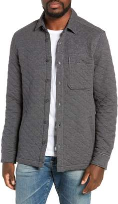 Jeremiah Cameron Regular Fit Quilted Shirt Jacket
