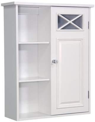 Elegant Home Fashions Dawson Single-Door Wall Cabinet