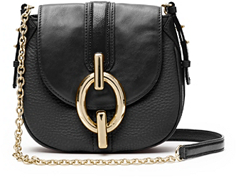 Sutra Mini Leather Crossbody Bag