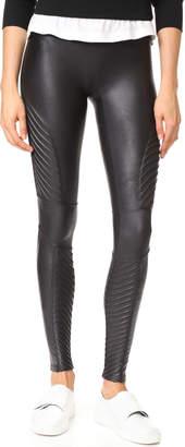 SPANX Faux Leather Moto Leggings $110 thestylecure.com