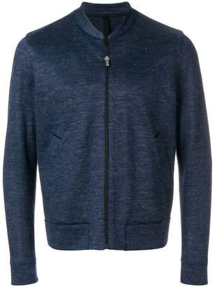 Harris Wharf London zipped lightweight jacket