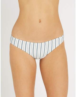 Seafolly Hipster striped bikini bottoms