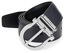 Salvatore Ferragamo Men's Adjustable& Reversible Gancio Buckle Belt