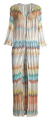 Missoni Mare Women's Long Bell Sleeve Coverup Caftan