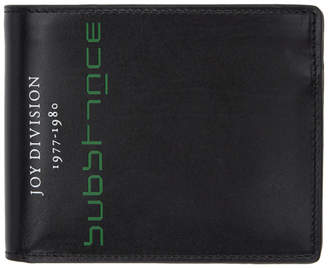 Raf Simons Black Joy Division Substance Wallet