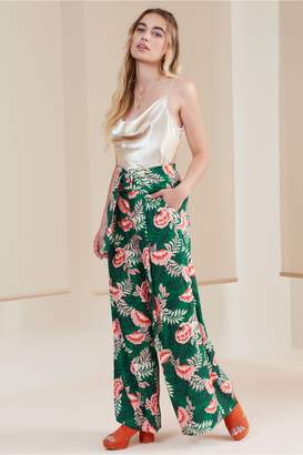 Finders Keepers SONGBIRD PANT forest floral