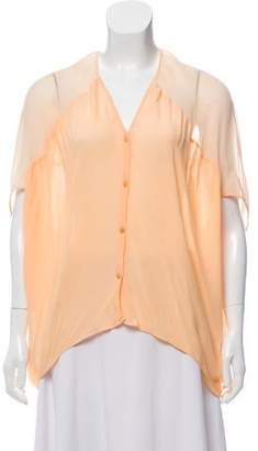 Helmut Lang Oversize High-Low Top