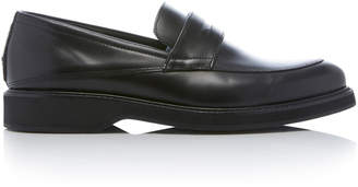 WANT Les Essentiels Marcos Leather Penny Loafers Size: 39