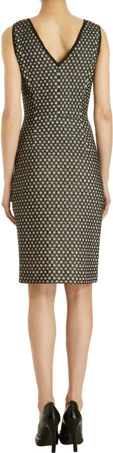 Derek Lam Dotted Lace V-Back Dress