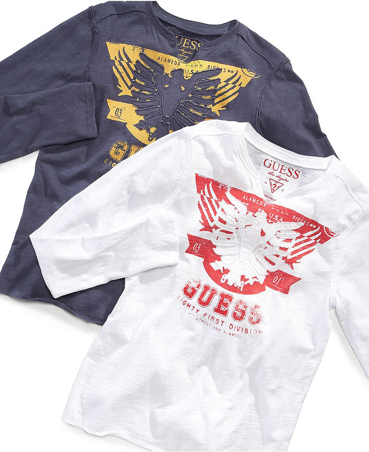 GUESS Kids Shirt, Boys Eighty First Division Tee