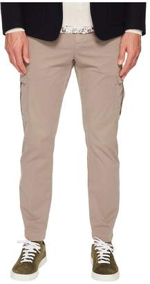 Eleventy Stretch Cotton Cargo Pants Men's Casual Pants
