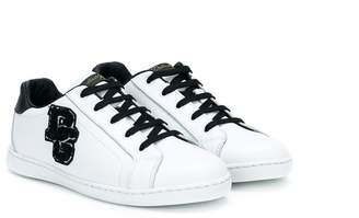 Dolce & Gabbana logo patch sneakers