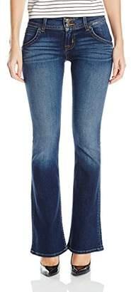 Hudson Women's Petite Size Signature Bootcut Flap Pocket Jean