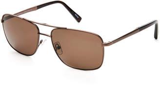Ermenegildo Zegna Dark Bronze EZ0021 Navigator Sunglasses
