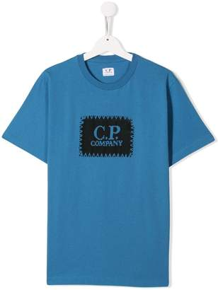 C.P. Company Kids branded T-shirt