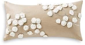 Sydney Rosette Decorative Pillow, 6 x 15