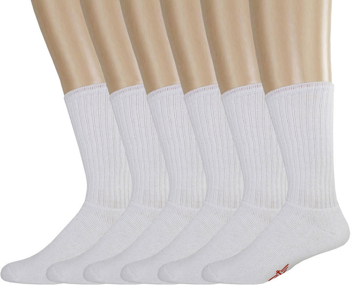 Dockers Mens 5-pk. Cushion Comfort Crew Socks + BONUS Pair