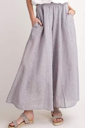 Easel Cotton Striped Pants