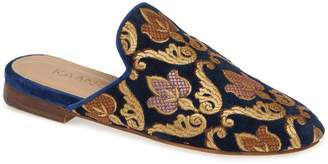 Kaanas Florence Embroidered Mule