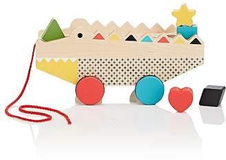 Petit Collage Rock & Roll Alligator Shape Sorter Pull Toy
