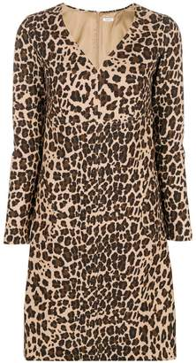 P.A.R.O.S.H. leopard printed dress
