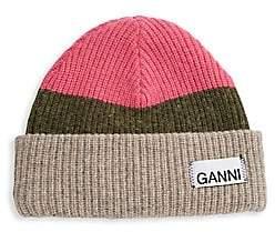Ganni Women's Knit Beanie