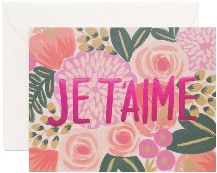 Je T'Aime Greeting Cards (Set of 8)