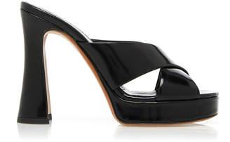 Marni Patent Leather Platform Sandals