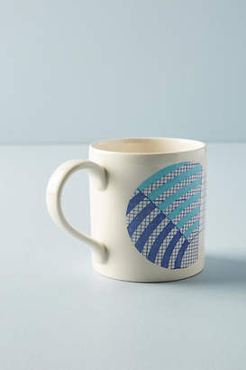 Anthropologie Graph Mug