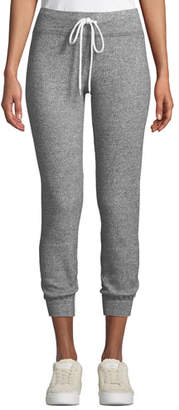 Monrow Thermal Cuffed Drawstring Sweatpants