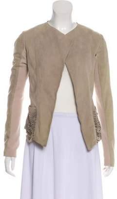 Veda Distressed Leather Jacket