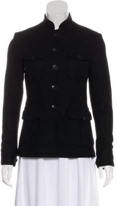 Rag & Bone Long Sleeve Wool Coat