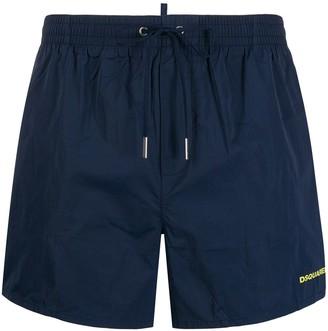 Icon print swim shorts