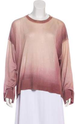 The Row Cashmere Dip-Dye Sweater